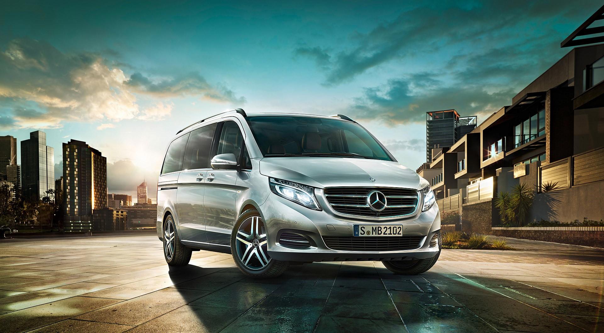 Mercedes new v class concierge croatia for Mercedes benz product concierge